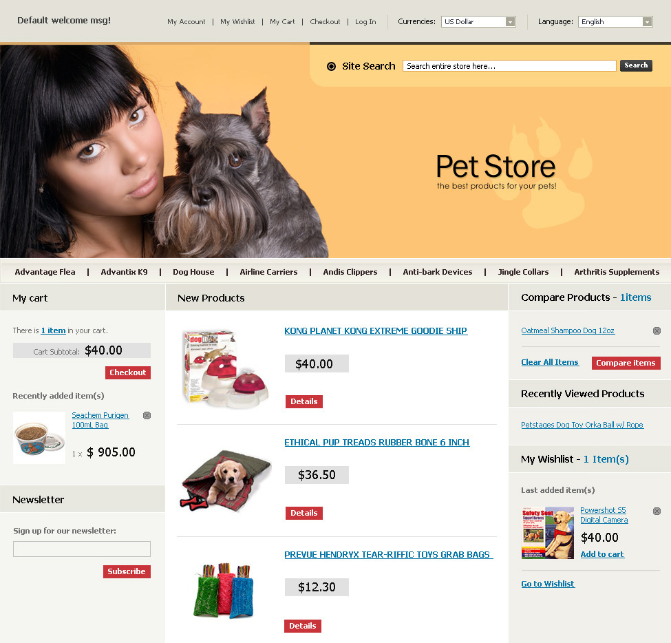 magento community templates - magento templates images frompo